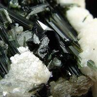 Elbaite With Lepidolite Cassiterite & Hübnerite