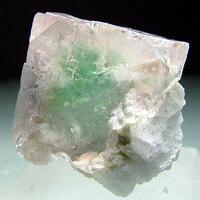 Fluorite Cleavelandite & Lepidolite