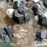 Fluorite Galena & Baryte