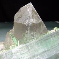 Kunzite Elbaite & Quartz