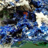 Linarite Brochantite & Caledonite