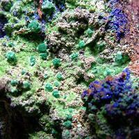 Malachite Psm Cuprite With Mixite & Azurite