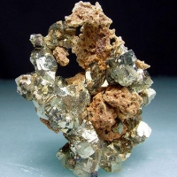 Pyrite & Limonite