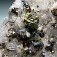 Pyrite Tennantite & Quartz