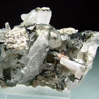 Quartz & Apatite With Chlorite
