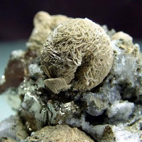 Siderite Pyrite & Calcite