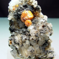 Campylite On Quartz