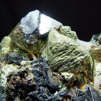 Chalcopyrite Sphalerite & Galena