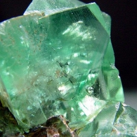 Fluorite With Enhydro Inclusions