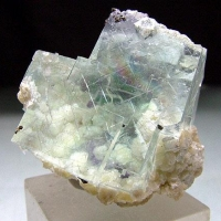 Fluorite With Gilbertite
