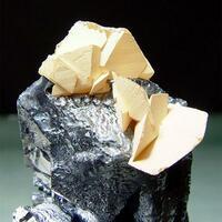 Manganoan Calcite & Galena