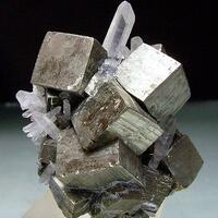 Pyrite & Quartz