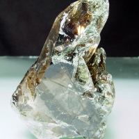 Quartz With Biotite Inclusions
