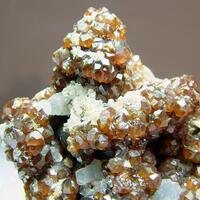 Andradite Calcite & Quartz