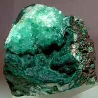 Cuprian Calcite & Rosasite