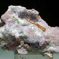 Cuprobismutite & Fluorite