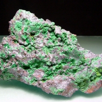Malachite Native Copper & Vésigniéite