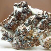 Quartz Psm Fluorite With Sphalerite & Ankerite