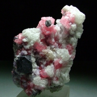 Rhodochrosite Fluorite & Galena