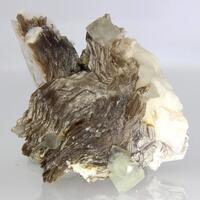 Hydroxylherderite & Muscovite