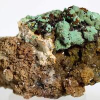 Aurichalcite Hemimorphite & Wulfenite