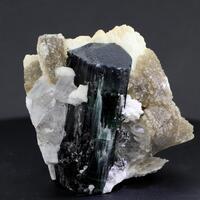 Elbaite Albite Lepidolite & Quartz