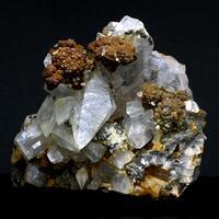 Calcite With Pyrite & Barian Celestine
