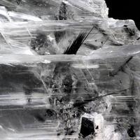 Gypsum With Todorokite Inclusions