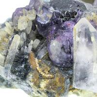 Fluorite Quartz & Tourmaline