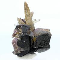 Aragonite & Fluorite
