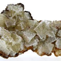 Fluorite Quartz & Siderite