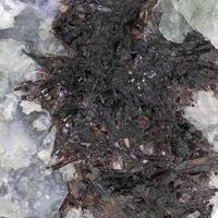 Hübnerite & Fluorite
