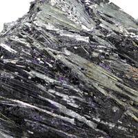 Ferrihollandite With Fluorite
