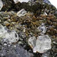 Galena Cerussite & Fluorite