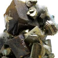 Siderite Sphalerite & Chalcopyrite