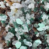 Malachite Quartz & Calcite