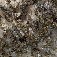 Dolomite With Pyrite & Calcite