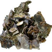 Wulfenite Mottramite Aurichalcite & Jarosite