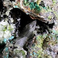 Goethite Cerussite & Willemite