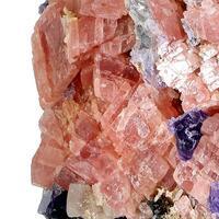 Rhodochrosite & Fluorite