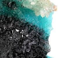 Aurichalcite Plattnerite & Calcite