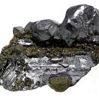 Polybasite Acanthite & Marcasite