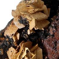 Siderite Psm Calcite & Hematite