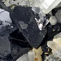 Sphalerite Galena Quartz & Manganoan Calcite