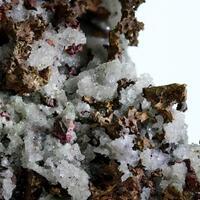 Native Copper & Quartz