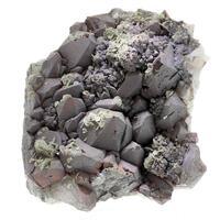 Calcite & Quartz With Hematite Inclusions