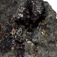 Chloanthite & Fluorite