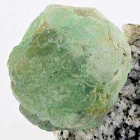 Fluorite With Quartz & Aegirine
