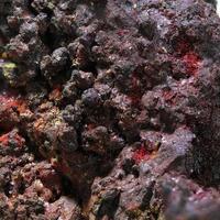 Chalcotrichite Cuprite & Native Copper