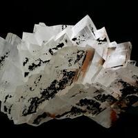 Calcite With Hematite & Mottramite Inclusions